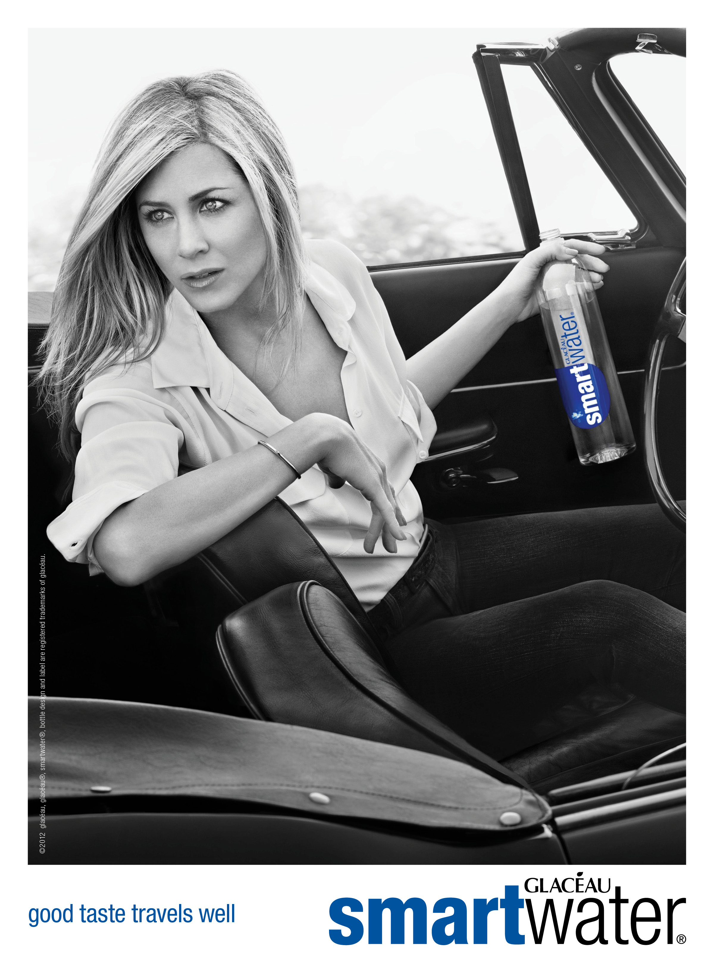Jennifer Aniston's New smartwater Campaign Here First!