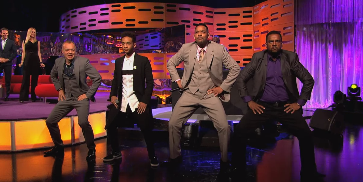 Will & Jaden Smith, DJ Jazzy Jeff and Alfonso Ribeiro Rap!
