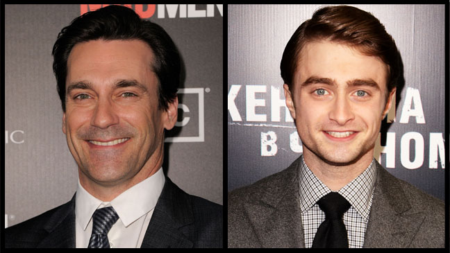 Jon Hamm and Daniel Radcliffe to star in  'A Young Doctor's Notebook'.