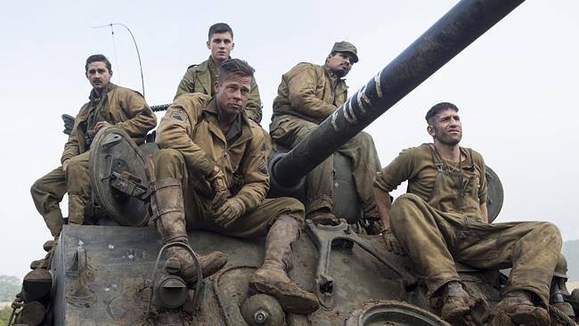 Brad Pitt's 'Fury' and Robert Downey Jr's 'The Judge' Top