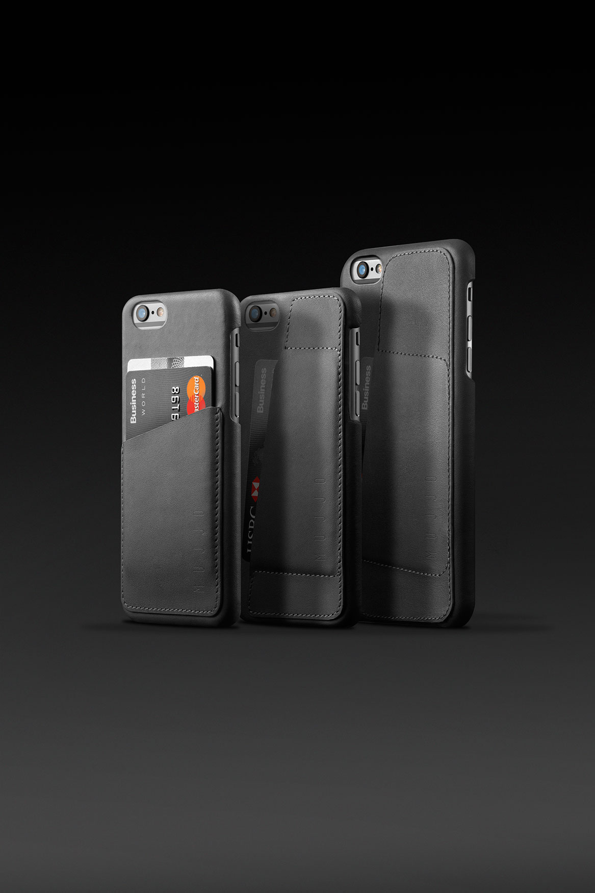 Mujjo Introduces the Leather Wallet Case line-up for iPhone 6   6 ... b6e8e77353644