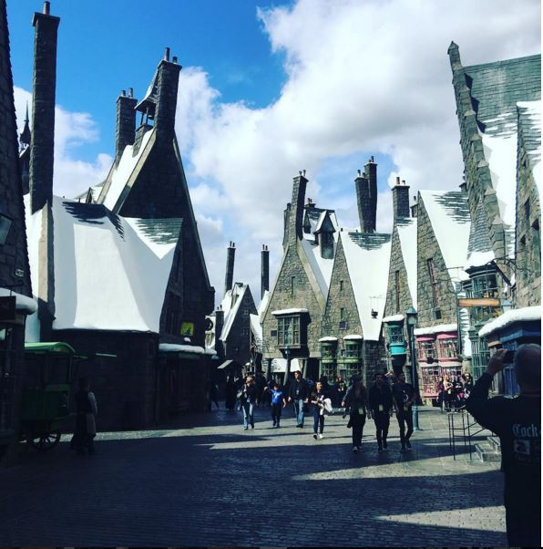 Harry Potter Rooftops