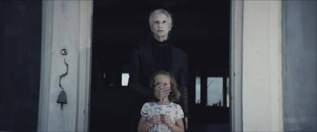 Penny Orloff and Sunnie Pelant in 'The Maiden'
