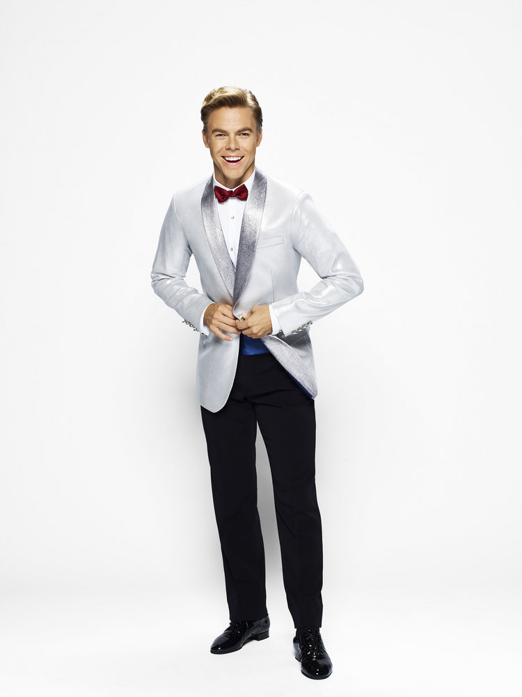 HAIRSPRAY LIVE! -- Season: 2016 -- Pictured: Derek Hough as Corny Collins -- (Photo by: Brian Bowen Smith/NBC)